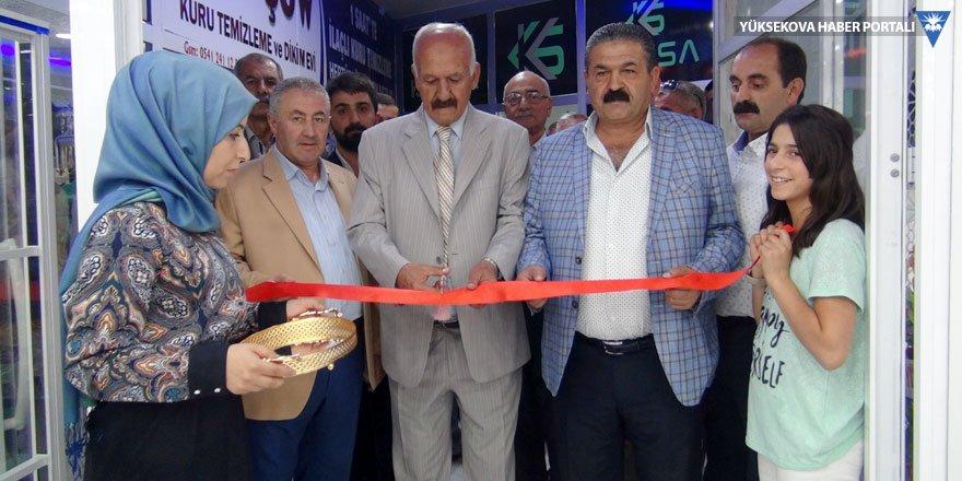 Yüksekova'da iş yeri açılışı