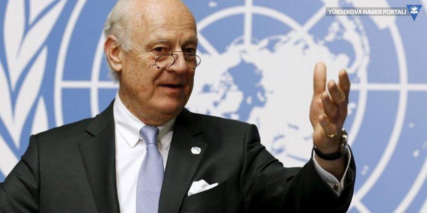 BM Suriye Özel Temsilcisi De Mistura Ankara'da