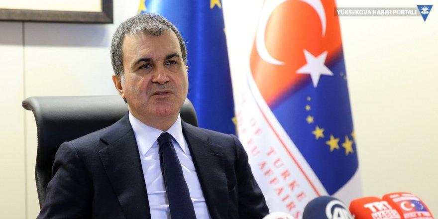 AB Bakanı Çelik'ten Öksüz açıklaması: İyi standartlarda yaşıyorlar