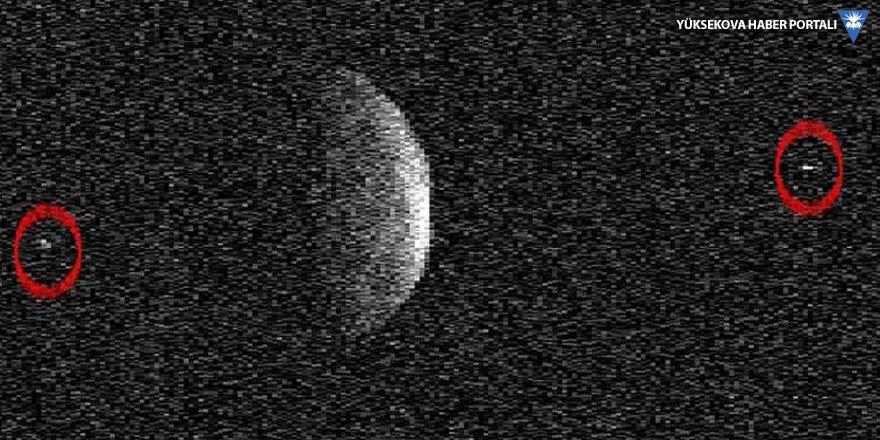 Florence asteroidinin iki uydusu olduğu keşfedildi