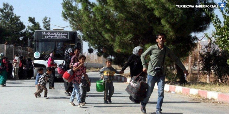 Bayramı ülkelerinde geçiren 15 bin Suriyeli Türkiye'ye döndü