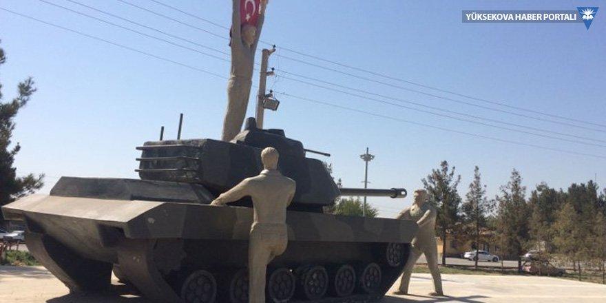 Harran'daki anıttan Erdoğan heykeli kaldırıldı
