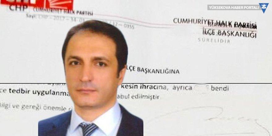CHP'li başkanın 'alkol'den ihracı istendi!