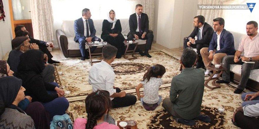 Baro başkanları Hakkari'de incelemelerde bulundu