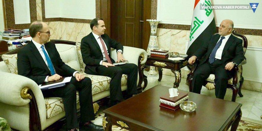 McGruk, İbadi ve Talabani ile görüştü