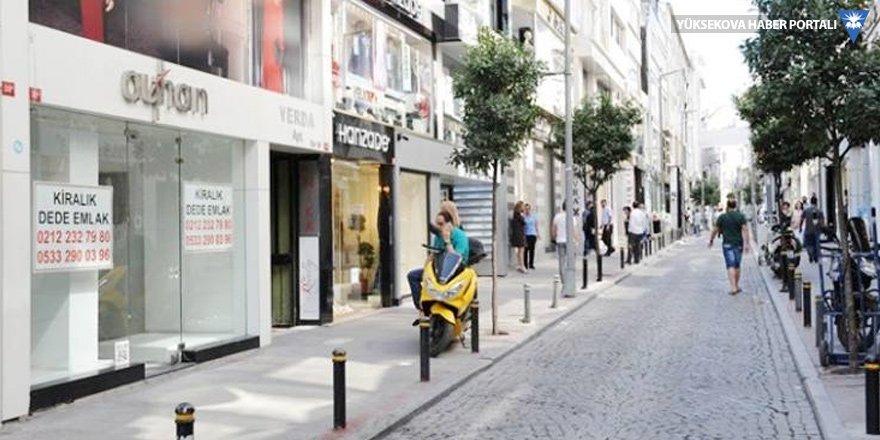 Osmanbey'de dükkanlar bir bir kapanıyor