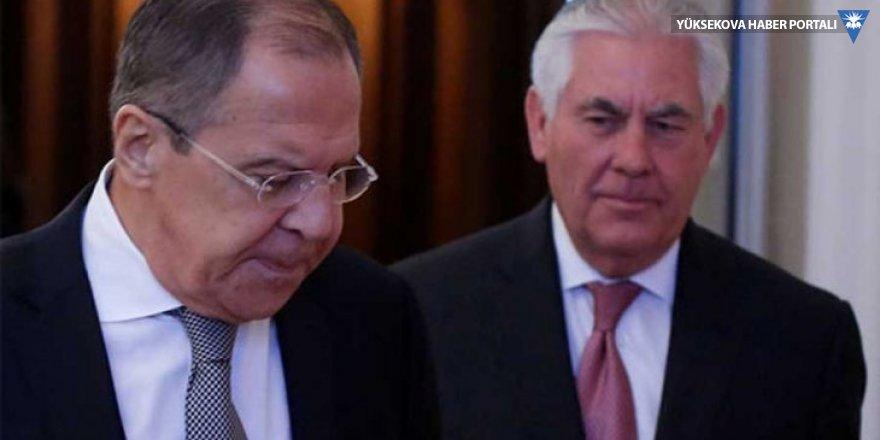 Lavrov ve Tillerson görüştü