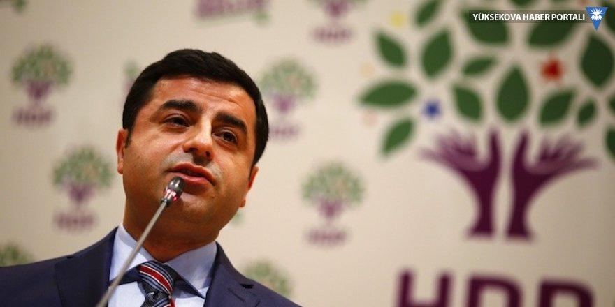 TBMM'den HDP'ye: Demirtaş'ın kelepçesini bakanlıklara sorun