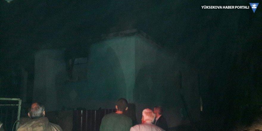 Varto'da ev yangını