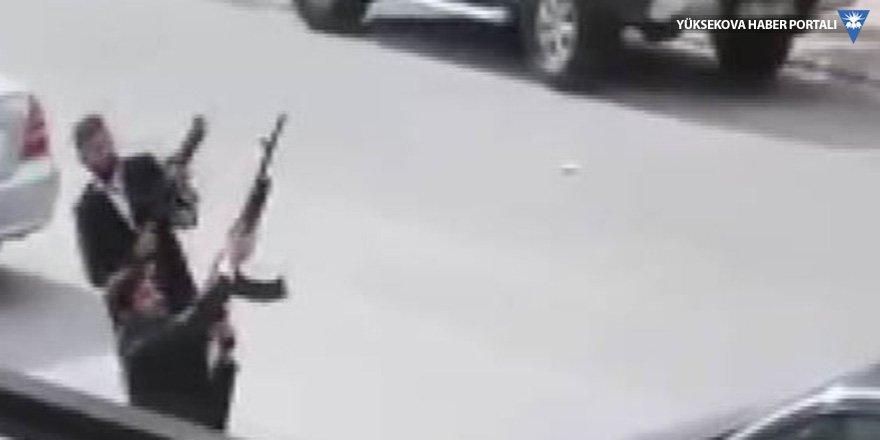 Konya'da silahlı düğün konvoyu