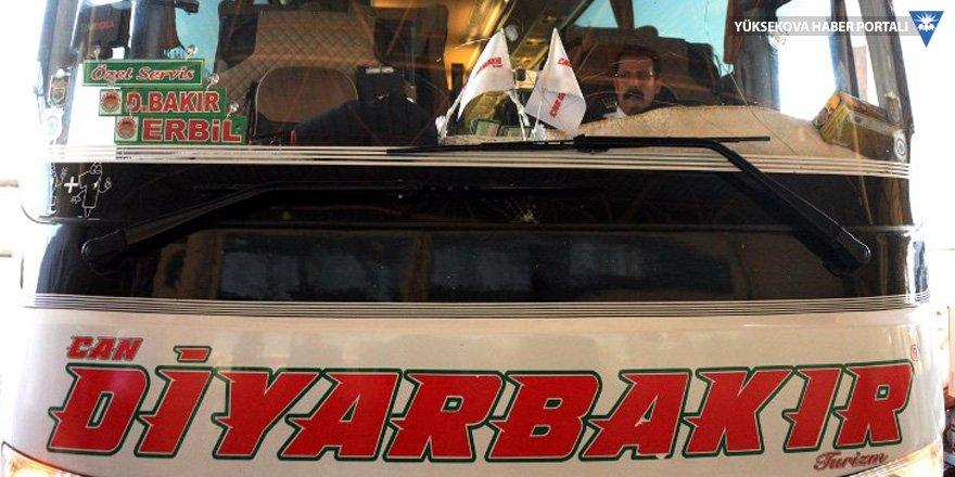 Erbil ve Süleymaniye yasağı otobüse rağbeti artırdı!