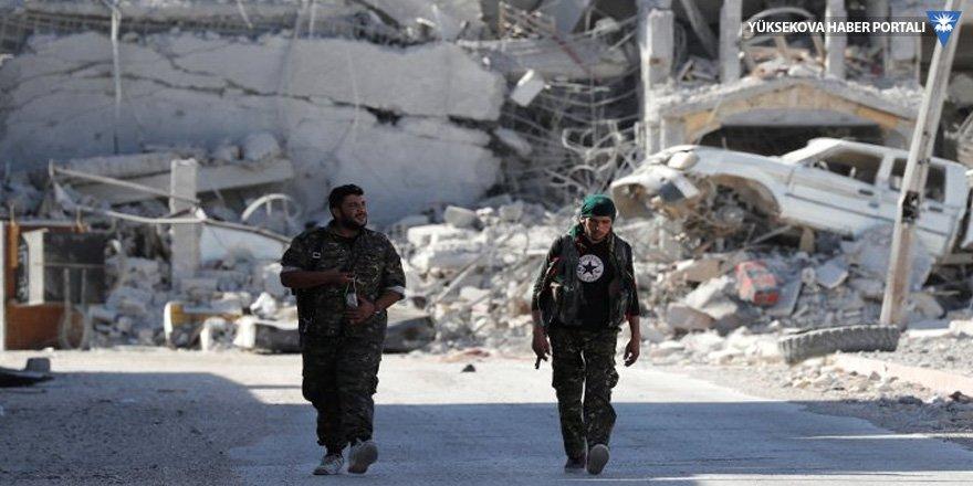 SDG Rakka Hastanesi'ni IŞİD'den aldı