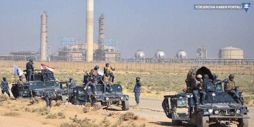 Kerkük'te iki petrol sahası Irak ordusunun kontrolünde
