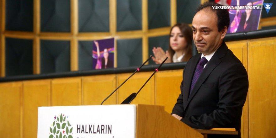 HDP'de parti sözcülüğü 'esas taşıyıcı'ya iade