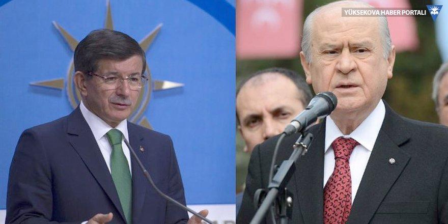 MHP'den Ahmet Davutoğlu'na sert yanıt