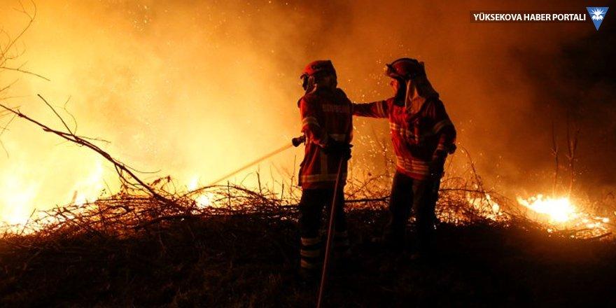 Orman yangını, İçişleri Bakanı götürdü