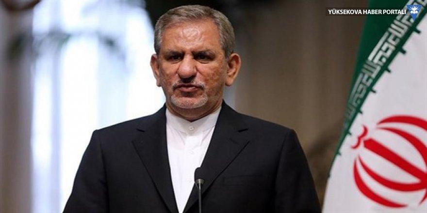 İran Cumhurbaşkanı Yardımcısı Cihangiri Ankara'da