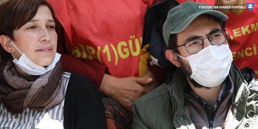 Özakça'ya tahliye Gülmen'e tutukluluğa devam kararı