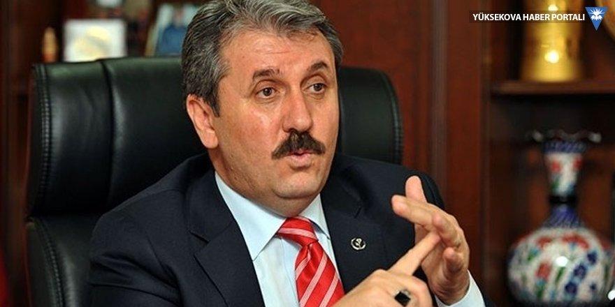BBP Genel Başkanı Destici: Musul, Kerkük, Halep, Batı Trakya, Kırım alınmalı