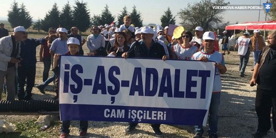 Cam işçileri İstanbul'a yürüyor: İş, aş, adalet