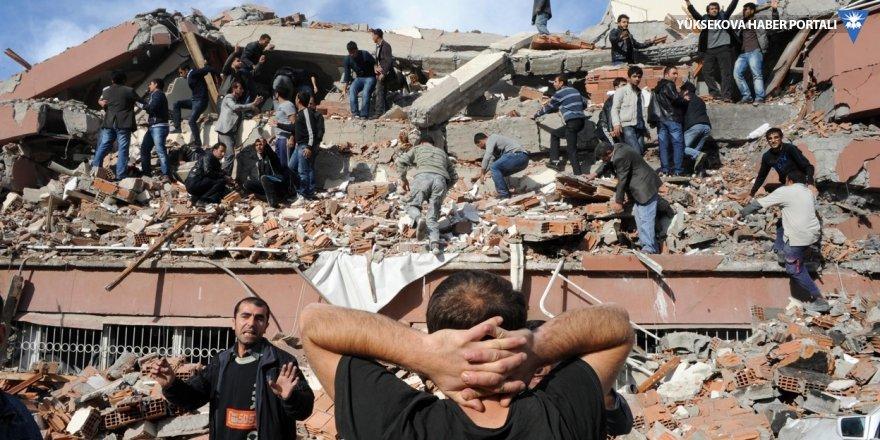 Van depreminin sosyolojik bulguları