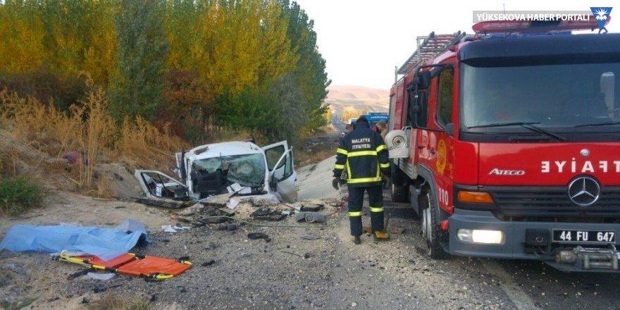 Darende'de kaza: 2 ölü