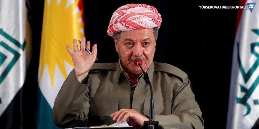 Mesud Barzani'den deprem mesajı