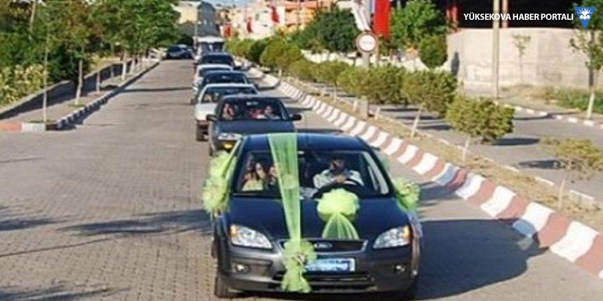 Düğün konvoyuna saldırı: 7 yaralı