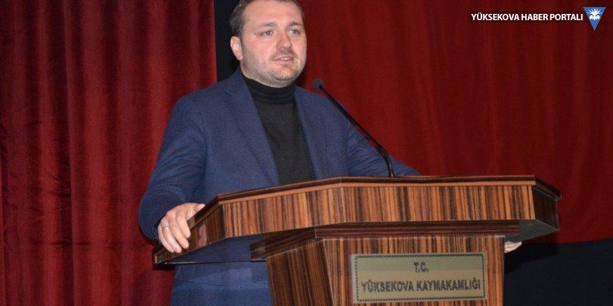 Melih Ecertaş Yüksekova'da