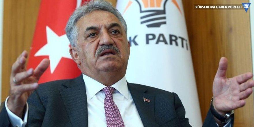 Hayati Yazıcı: Meclis'e ilk gelecek konu yerel yönetimler