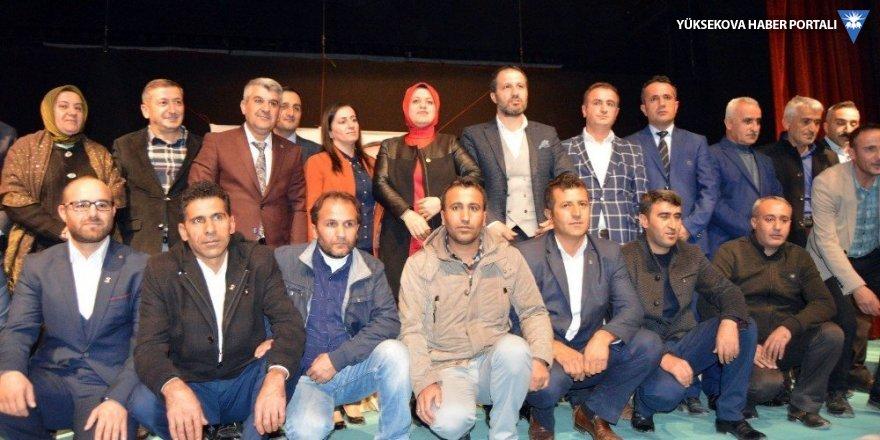 AK Parti Hakkari Merkez İlçe Kongresi yapıldı