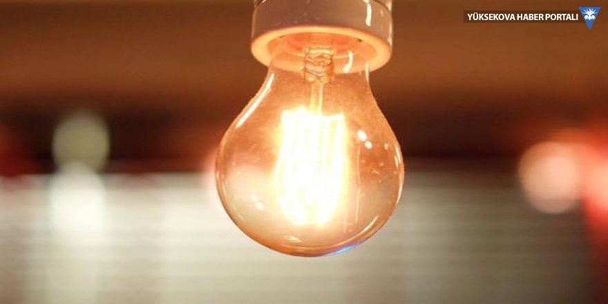 Yüksekova'da elektrik çilesi bitmiyor