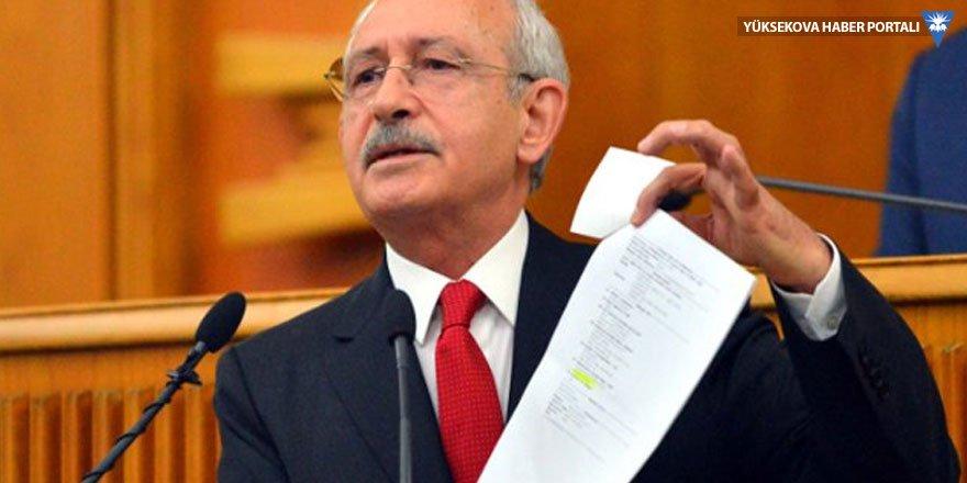 CHP'den Kılıçdaroğlu'nun malvarlığı için araştırma önergesi