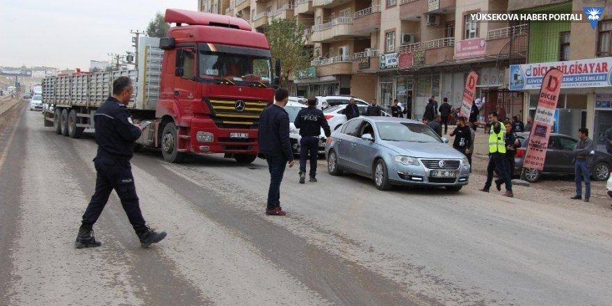 Silopi'de trafik kazası: 1 ölü