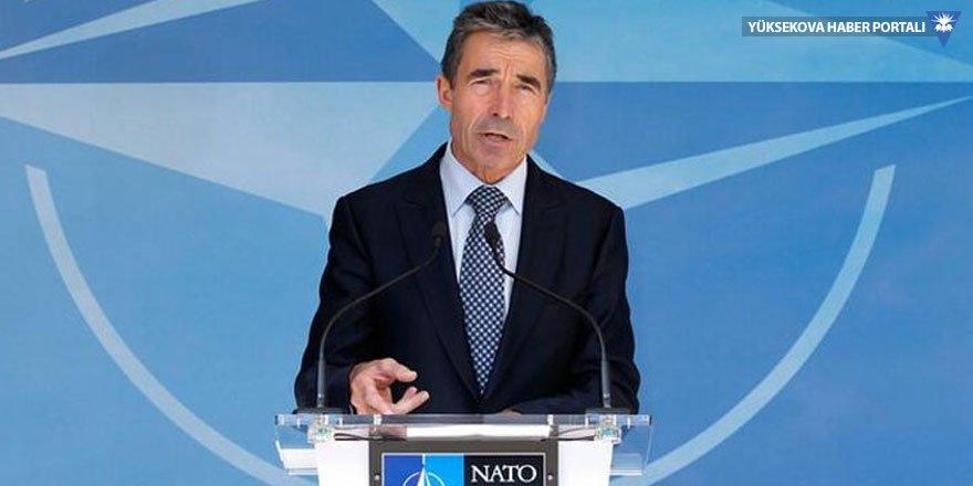 Rasmussen'den YPG yorumu: Yaşanan sürecin NATO içinde bölünmeye yol açma ihtimali var