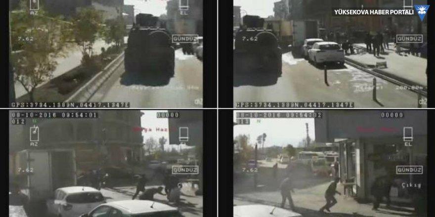 Zırhlı aracın tarama görüntüsü ortaya çıktı
