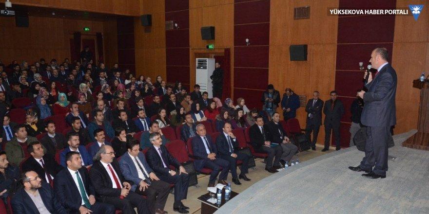 Yüksekova'da 'Eğitim ve Rehberlik' programı