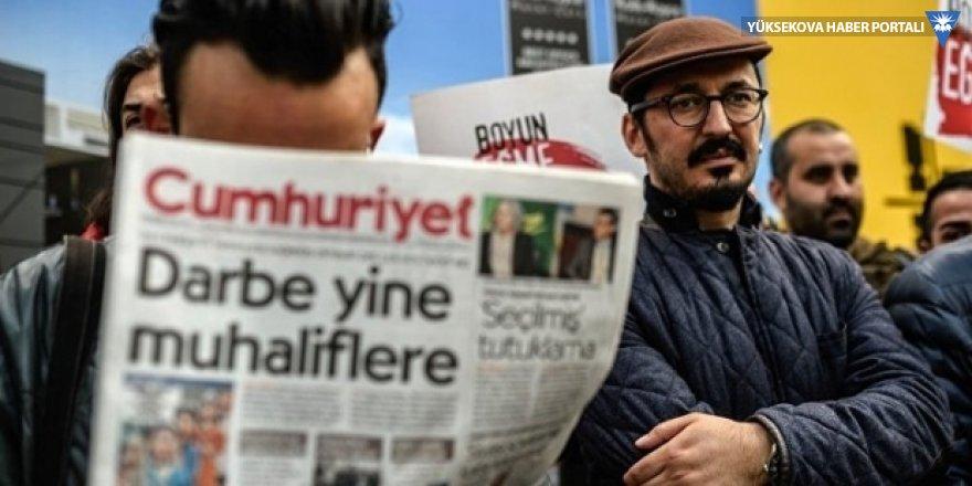 """""""Türkiye 2017'de de en fazla gazetecinin cezaevinde olduğu ülke"""""""