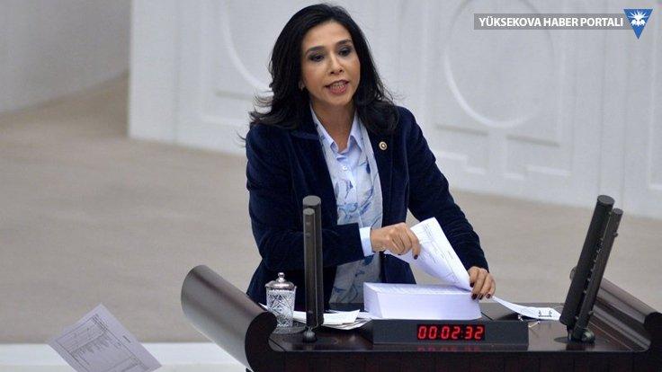 CHP milletvekili Gülay Yedekci, 2018 bütçesini yırttı