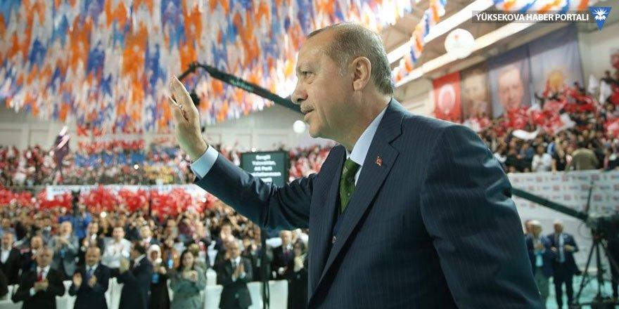 Erdoğan'dan Yüksekova ve Cizre açıklaması: İnşallah il yapacağız