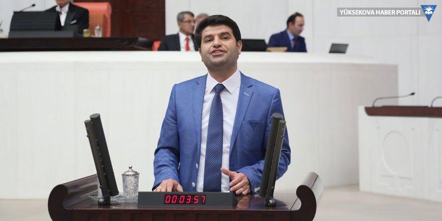 HDP'li Aslan Meclis'te Arapça konuştu, AK Partili Aydın itiraz etti