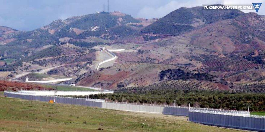 Suriye sınırına 781 kilometrelik beton blok