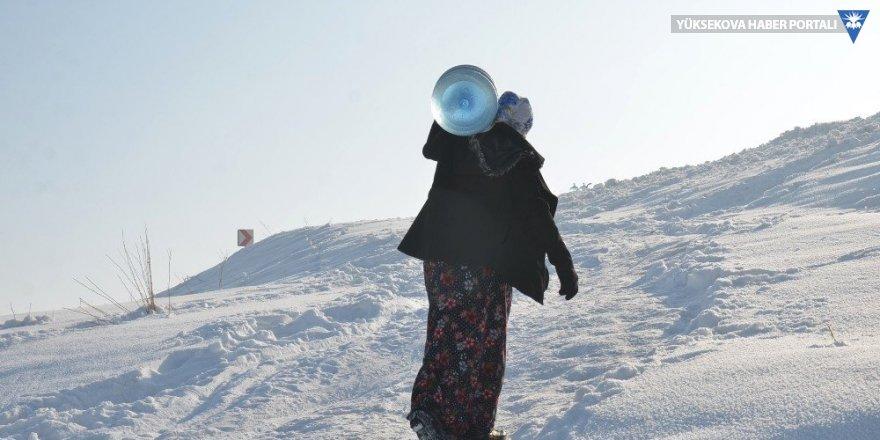 Yüksekova: Bu köyün su çilesi bitmiyor
