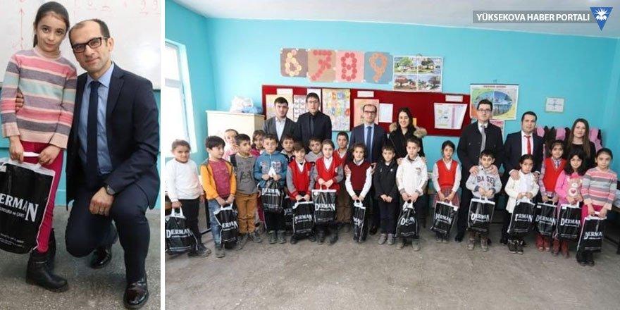 İstanbul'dan Çukurcalı çocuklara hediye