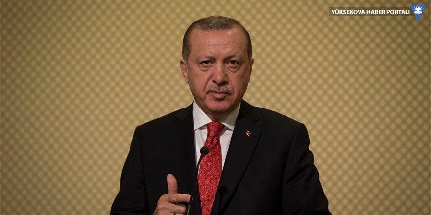 Erdoğan: Teslim olmazlarsa Afrin'i başlarına yıkacağız