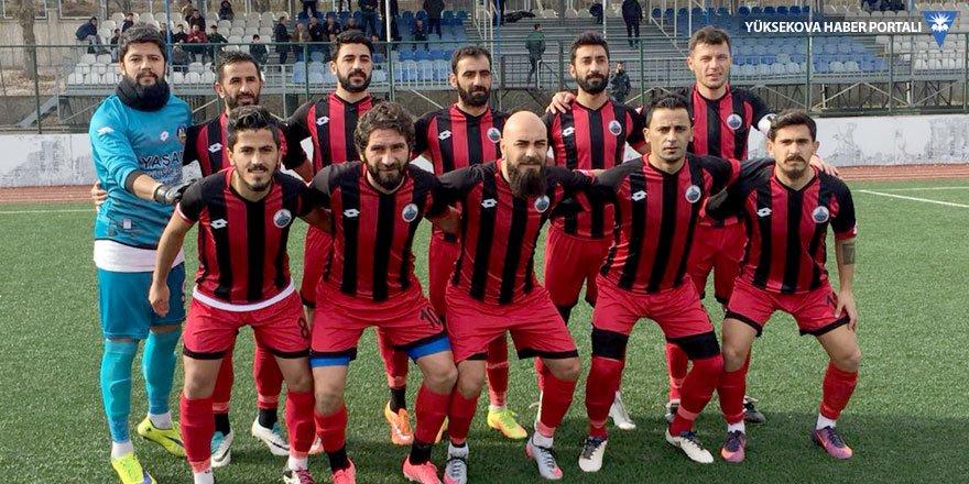 Yüksekova Belediyespor, Tatvan'dan 5 golle döndü
