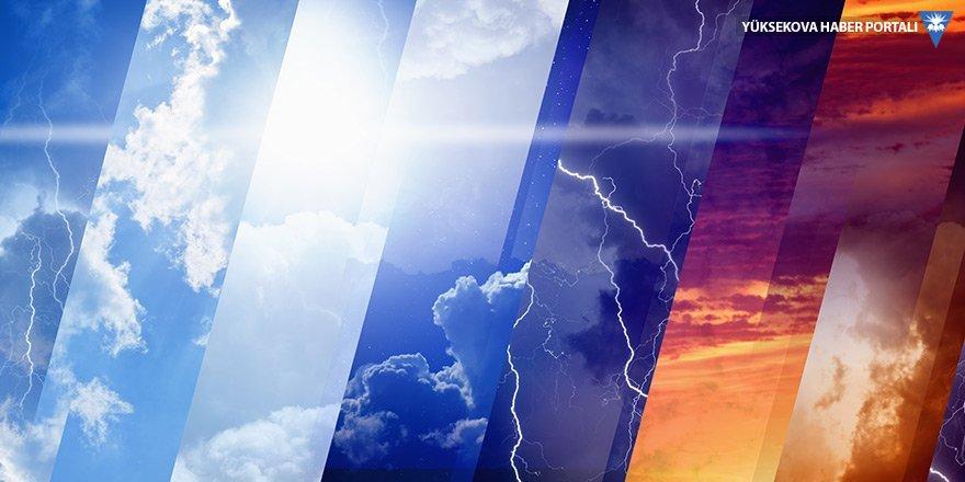 Meteorolojiden 'çamur şeklinde yağış' uyarısı