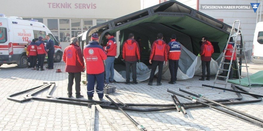 Müdür Akdoğan, UMKE çalışmalarını inceledi