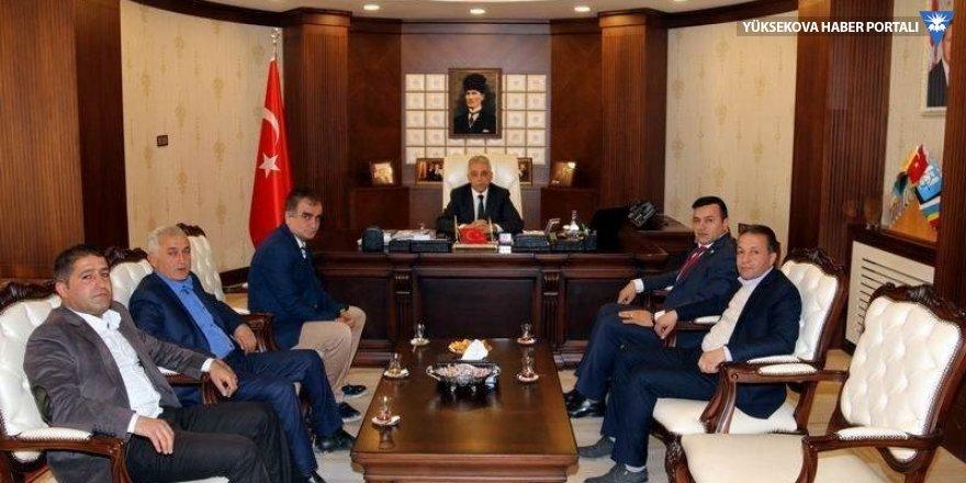 Şoförler Odası Başkanı Arslan'dan Vali Toprak'a ziyaret