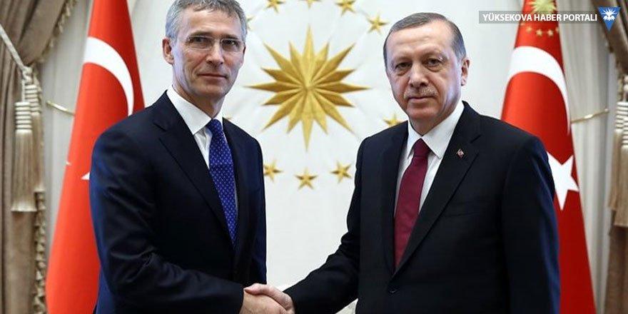 Cumhurbaşkanı Erdoğan, Jens Stoltenberg'le görüştü